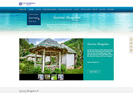 Official website of Cat Ba resort, owned by HVG Group.